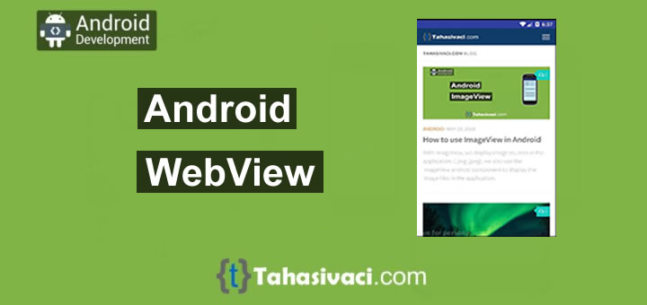 Android WebView example Tutorial - Tahasivaci com