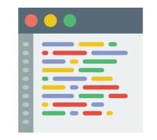 Browser com código HTML
