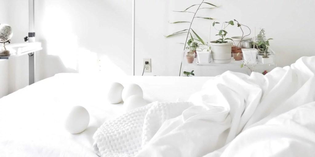 Quarto com cama super confortável