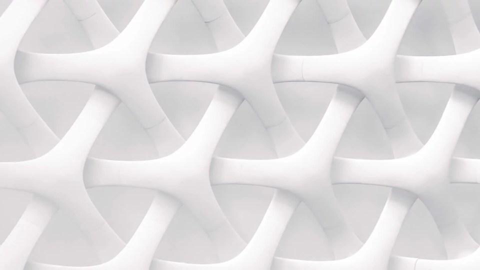 Forma branca lembrando conexão