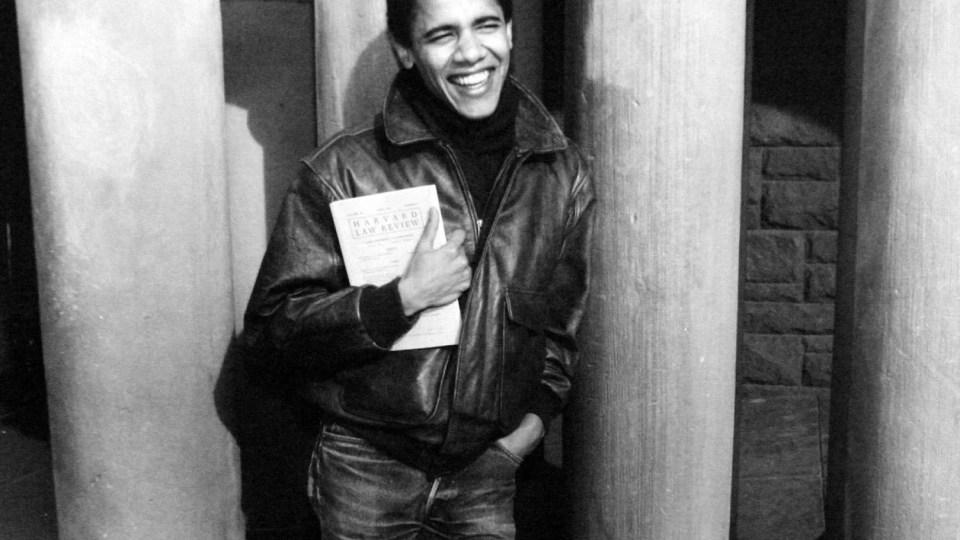 Barack Obama jovem