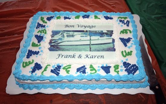 Bon Voyage Cake for Tahina