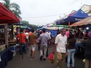 Malaysia street market