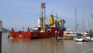 Big Ship Little Dock