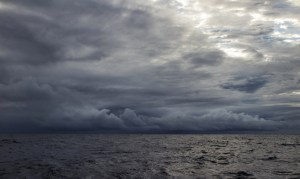 Indian Ocean squalls