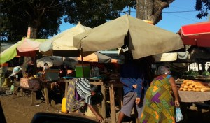Village market on Nosy Be