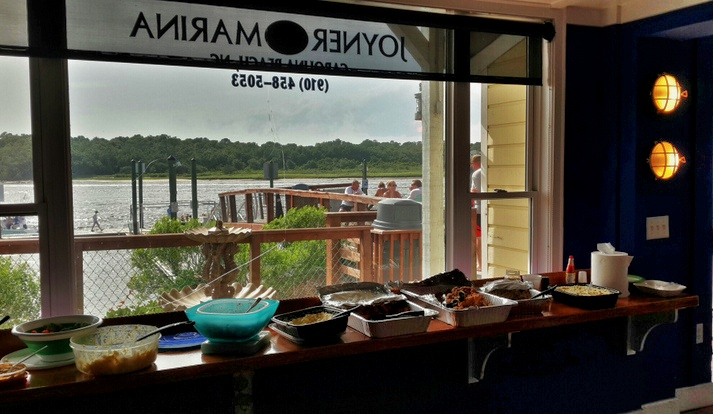 BBQ foods on the ICW