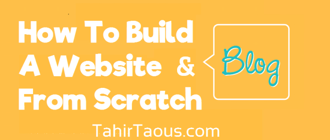 How To Build A Website From Scratch 2016 Step by Step Guide