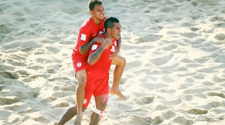 Beachsoccer - World Cup : La magie continue, les Tiki Toa battent l'Iran 5-4. (résumé)