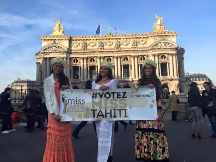 Vaimiti à J-1 de l'élection de Miss France :