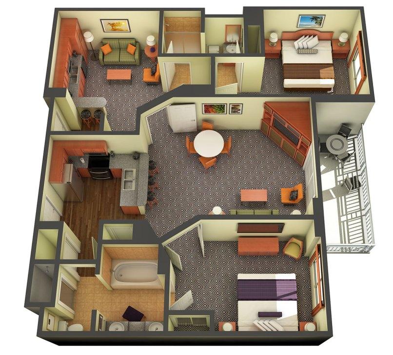 Marriott 2 Bedroom Suites Las Vegas: 2 Bedroom Hotel In Las Vegas