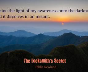 One week to go! And another picture quote from The Locksmith's Secret
