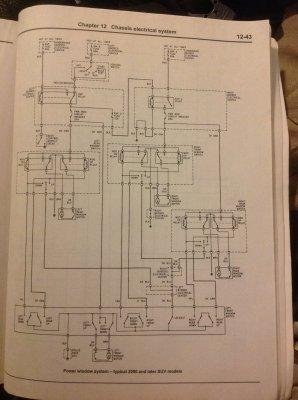 Driver S Door Master Window Switch Wiring Diagram