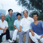 M°Zhao Ning Jun con gruppo Maestri - Cina