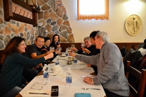 cena di natale con M° Zhao 2017