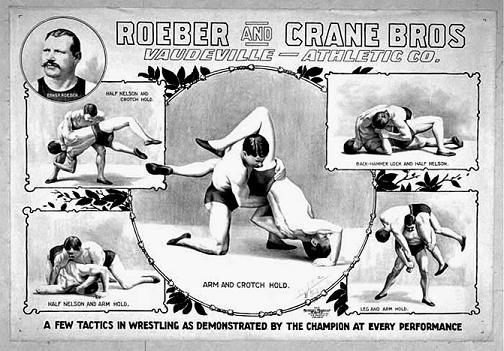 catch-wrestling-roeber-and-crane zapasy klasyczne