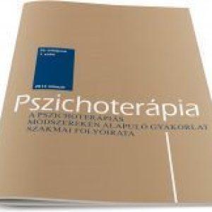 Tanulmány a Pszichoterápia folyóirat 2015 augusztusi számában