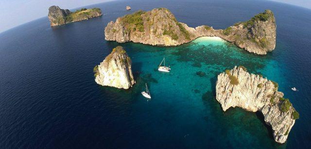 Koh Haa salynas Tailande