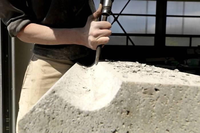 Tailleur de pierre en Auvergne