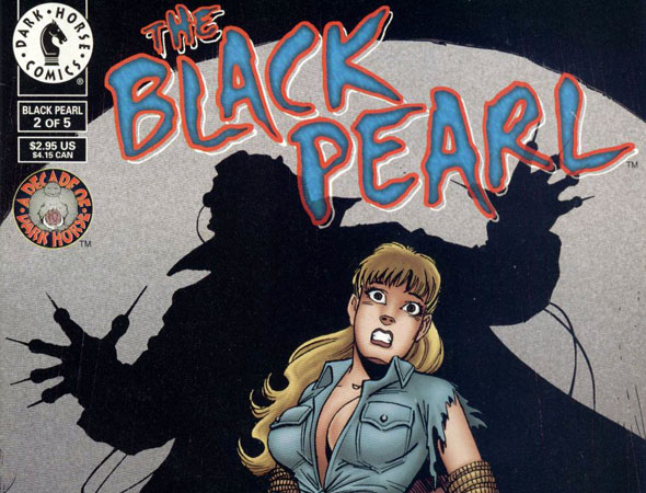 Comic book cover of Mark Hamill's 'The Black Pearl'