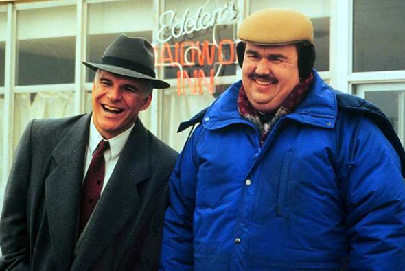 'Planes, Trains and Automobiles' with Steve Martin (left) and John Candy
