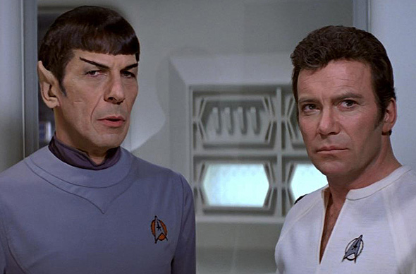 Kirk and Spock in 'Star Trek: The Motion Picture'