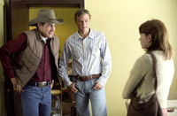 Jake Gyllenhaal, Heath Ledger and Michelle Williams in 'Brokeback Mountain'