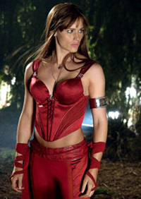 Jennifer Garner headlines as the comic book hero, 'Elektra'