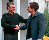 Robert DeNiro and Ben Stiller in 'Meet the Parents'