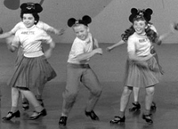 Mousketeers such as Annette Funicello show their moves in 'Walt Disney Treasures: The Mickey Mouse Club'