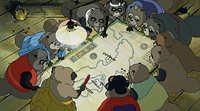 Raccoons plot their next move in 'Pom Poko'