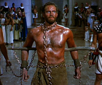 Charlton Heston is Moses in 'The Ten Commandments'