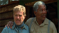 Robert Redford and Morgan Freeman co-star in 'An Unfinished Life'