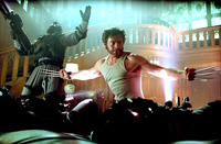 Hugh Jackman as Wolverine in 'X2: X-Men United'