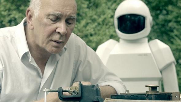 Frank Langella in 'Robot & Frank'