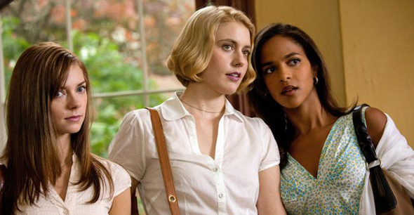 Megalyn Echikunwoke, Greta Gerwig and Carrie MacLemore in 'Damsels in Distress'