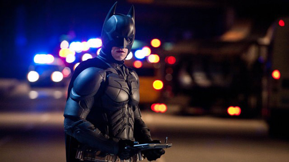Christian saves the day one last time as Batman in 'The Dark Knight Rises'