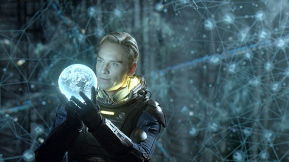 Michael Fassbender in 'Prometheus'
