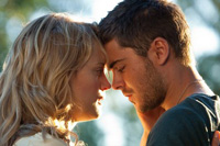 Zac Efron and Taylor Schilling co-star in 'The Lucky One'