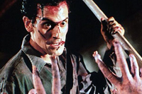 Bruce Campbell returns in this remake/sequel, 'Evil Dead II'