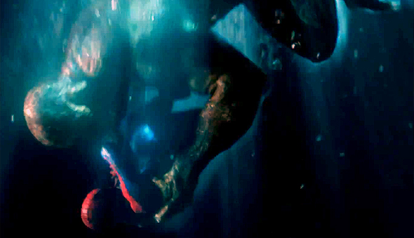 The Wall Crawler battles the Lizard in 'The Amazing Spider-Man'