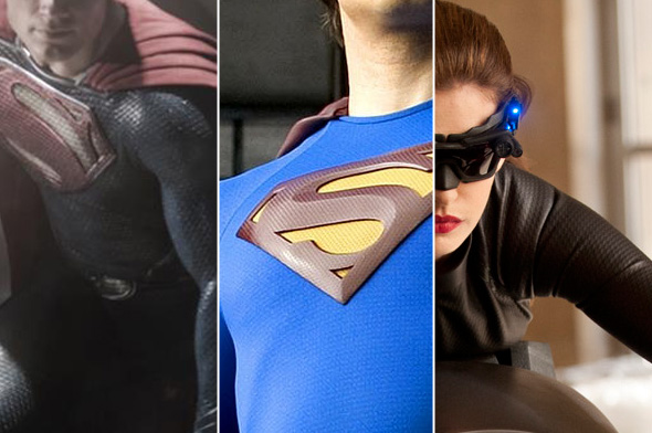 Why do superhero costumes all seem to have a checkered texture?