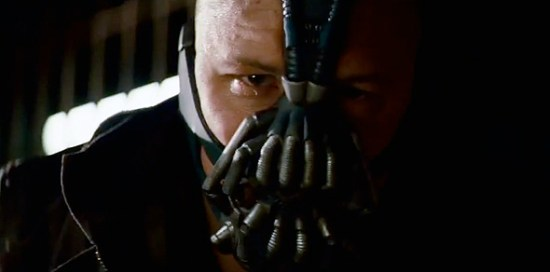 Bane in 'The Dark Knight Rises' teaser trailer