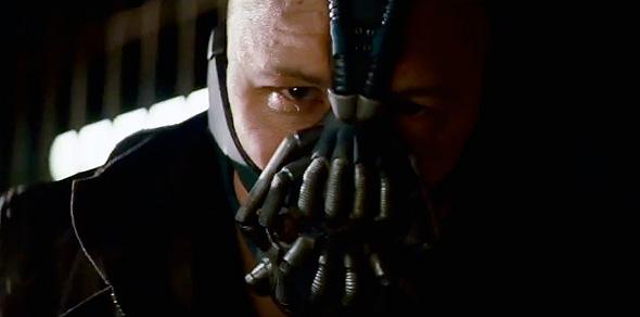 Bane in 'The Dark Knight Rises' teaser trailer