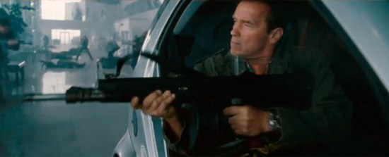 Arnold Schwarzenegger in 'The Expendables 2'