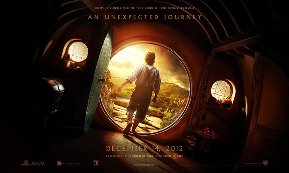 'The Hobbit: An Unexpected Journey' teaser poster