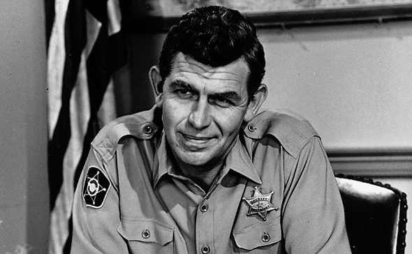 Andy Griffith in 'The Andy Griffith Show'