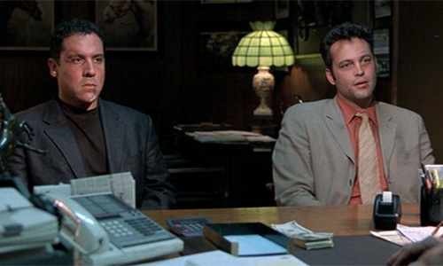 Vince Vaughn (right) and Jon Favreau reteam in this killer comedy, 'Made'