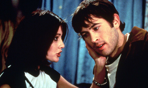 Shannon Doherty and Jason Lee in 'Mallrats'
