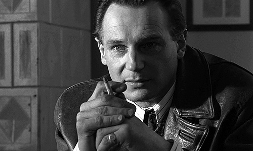 Liam Neeson plots to save Jews in 'Schindler's List'